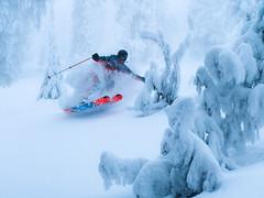 Fairytale (Andrej Grznár) Tags: winter action sport sports ski skiing powder pow snow fresh jump slovakia nature fairytale dream rider skier