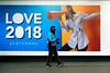 Love 2018 (stevedexteruk) Tags: love 2018 debenhams golf mask oxfordstreet london city westminster shop window display megaphone