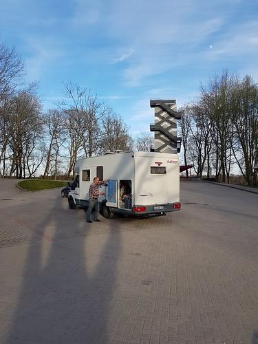 611A Parking du Télèphérique. Sigulda (LV)