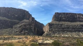 Santa Elena Canyon in Big Bend National Park
