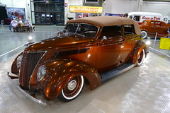 1938 ford convertible (bballchico) Tags: 1938 ford 4door convertible custom donrichardson gnrs2018 carshow