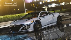 1NSX1 (Tawatchai Joe) Tags: car cars honda acura acuransx nsx2017 nsxlibertywalk libertywalk game gtav