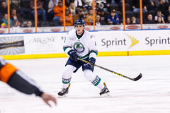 "Kansas City Mavericks vs. Florida Everblades, February 18, 2018, Silverstein Eye Centers Arena, Independence, Missouri.  Photo: © John Howe / Howe Creative Photography, all rights reserved 2018 • <a style=""font-size:0.8em;"" href=""http://www.flickr.com/photos/134016632@N02/39491137555/"" target=""_blank"">View on Flickr</a>"