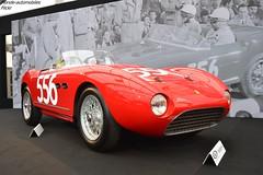 Ferrari 166 MM Spider 1953 (Monde-Auto Passion Photos) Tags: voiture vehicule auto automobile ferrari 166 mm spider cabriolet convertible roadster sportive red rouge rare rareté ancienne classique vauban vente enchère sothebys france paris mil miglia millemiglia
