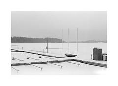 What boats do in winter (Esko Kumpunen) Tags: canon35mmltm pullingfilm pyrocathd espoo