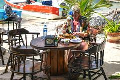 l ile aux femmes ,couleur locale (Hélène Baudart) Tags: beach mexique cancun langouste
