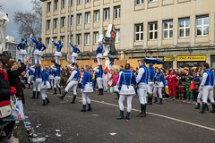 Tanzkorps von Große Braunsfelder beim Rosenmontagszug - Kölner Karneval 2018 (marcoverch) Tags: köln nordrheinwestfalen deutschland de parade street strase people menschen festival competition wettbewerb city stadt road dragrace crowd menge marathon many viele flag flagge police polizei action aktion group gruppe footrace wettrennen battle schlacht school schule man mann trackandfield leichtathletik canada airplane hiking flickr inabottle abandoned macromondays february robin españa tanzkorps grosebraunsfelder rosenmontagszug kölnerkarneval2018