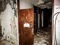 DSCN0072 (tiulekler) Tags: urban urbanexploration urbex exploration abandoned hospitalabandoned hospital street