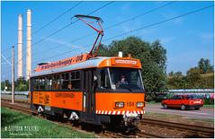 Gera Gleispflegewagen 104 (stephan1mertens) Tags: gera t4 arbeitswagen gleispflege 104