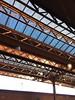 Birmingham Moor St (OhDark30) Tags: birmingham moor st station rail railway roof canopy girders glass iphone iphoneography sunlight shadows lattice