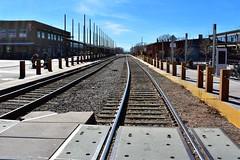 Santa Fe Railyard (thomasgorman1) Tags: rr tracks railroad arts nm outdoors sunshine neighborhood rails rail