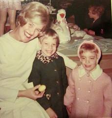 Herp's Easter breakfast 1969 (creed_400) Tags: herposhimers herps easter breakfast downtown grand rapids 1969 department store jean terri lisa michigan spring april