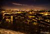 Gothenburg from a hill (t.sugita) Tags: gothenburg goteborg night evening cold skansenkronan haga nightview d610 nikon nikkor hdr sunset moon