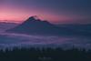 Udalaitz, La Montaña Solitaria (Mimadeo) Tags: morning mist misty haze hazy fog foggy mountain mountains blue valley sunrise sunset udalaitz duranguesado basquecountry paisvasco euskadi bizkaia vizcaya distant atmosphere pine pines twilight dusk dawn