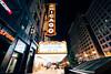 Chicago Theatre (Austin Zveare) Tags: chicago chicagotheatre longexposure nightphotography wideangle vsco hdr landscape architecture buildings sigma city nikon
