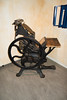 Printing press used by the Dutch resistance (quinet) Tags: 2017 amsterdam antik diamon dutchresistance gassen netherlands verzetsmuseum ancien antique diamond diamone factory museum musée northholland neterlands 528