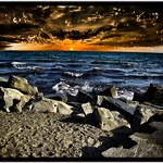 Toronto Ontario - Canada - Sunrise Over The Lake  Ontario HDR thumbnail