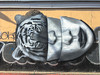 The Head of the Tiger (Eyes Included) (Roblawol) Tags: art artistic bw blackandwhite graffiti graffitiart latinamerica mouth mural paintedstreetart paintedwallart peru southamerica streetart surquillo wall woman