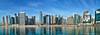 Dubai, United Arab Emirates: Downtown Dubai skyline along Dubai Creek (nabobswims) Tags: ae dubai dubaicreek hdr highdynamicrange ilce6000 lightroom nabob nabobswims photomatix sel18105g skyline skyscraper sonya6000 uae unitedarabemirates sonyflickraward
