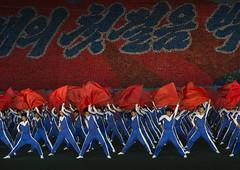 North Korean gymnasts with red flags during the Arirang mass games in may day stadium, Pyongan Province, Pyongyang, North Korea (Eric Lafforgue) Tags: arirang asia asian asianethnicity celebrationevent choregraphy clothing communism dictatorship dprk eti4319 event festival flags horizontal largegroupofpeople massgames massmouvement men multicolored night northkorea northkorean onlymen patriotism peopleinarow performance performing politicsandgovernment propaganda pyongyang redflag rungrado show stadium togetherness traveldestinations unrecognizablepeople pyonganprovince 北朝鮮 북한 朝鮮民主主義人民共和国 조선 coreadelnorte coréedunord coréiadonorte coreiadonorte 조선민주주의인민공화국 เกาหลีเหนือ קוריאההצפונית koreapółnocna koreautara kuzeykore nordkorea північнакорея севернакореја севернакорея severníkorea βόρειακορέα