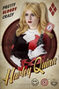 Irina - Harley Quinn (vintage) (Florent Joannès) Tags: shooting shoot photo photography portrait photographie modeling mode makeup marseille cosplay comics dc harley quinn harleyquinn vintage poster typo font graphic design 50mm 2018