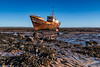Rusty Trawler (Tony Clement 68) Tags: boat rust seaweed sky barrow furness rampside chain rocks
