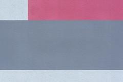 Pink and grey wall (Jan van der Wolf) Tags: wall muur pink rose grey facade abstract geometric geometrisch geometrie panels colours kleuren colors 174326