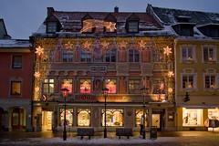 Рождество в Баварии. Фюссен, Германия (varfolomeev) Tags: 2017 германия город улица ночь night fujifilmxt10 samyang12mm city street germany аптека pharmacy
