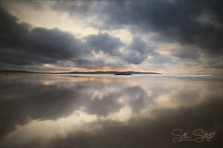 Gwithian Reflections, Cornwall