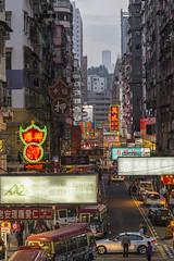 finding a way through (channyuk (using Albums)) Tags: nikkorafs70200mmf4vr nikond800 hongkong mongkok nightshots handheld
