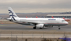 SX-DNB LEMD 10-01-2018 (Burmarrad (Mark) Camenzuli Thank you for the 10.3) Tags: airline aegean airlines aircraft airbus a320232 registration sxdnb cn 6832 lemd 10012018