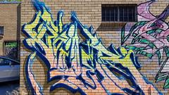 Bailer... (colourourcity) Tags: streetart streetartaustralia streetartnow graffitimelbourne graffiti melbourne burncity awesome colourourcity nofilters original bailer bails id acm