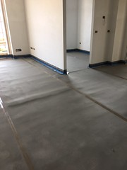 Isolamento termico e acustico a pavimento