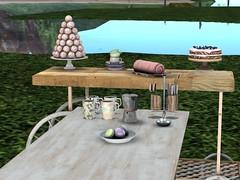Coffee Date in the Garden (aerlinniel.roughneck) Tags: adorablystrangewares truthordareaffair3