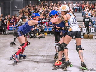 Roller Derby World Cup 2018 - Team USA vs. Team Argentina