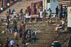 kedar ghat (arcibald) Tags: varanasi india uttarpradesh kedar ghat