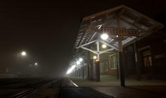 _MG_3234.CR2 (jalexartis) Tags: fayetteville fayettevillenc fayettevillenorthcarolina fog foggy foggymorning downtownfayetteville downtown amtrak trainstation amtrakstation