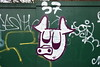 37 pig in white (Harry Halibut) Tags: publicartinsheffield public art streetart graffiti murals 2018©andrewpettigrew allrightsreserved imagesofsheffield images sheffieldarchitecture sheffieldbuildings colourbysoftwarelaziness sheffield south yorkshire sheff1802215892 hoarding road 37 pig green white netherthorpe