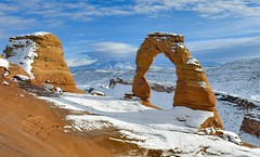Delicate Arch (ericgrimm) Tags: utah archesnationalpark arch winter