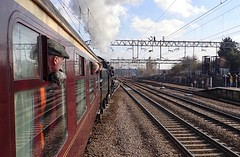 Colchester Essex 22nd February 2018 (loose_grip_99) Tags: cathedralsexpress britishrailways standard pacific 462 70013 olivercromwell greateastern railway railroad rail train steam engine locomotive gassteam uksteam trains railways transportation 5305la mainline colchester essex february 2018