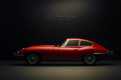 1963 Jaguar E Type Series I 3.8 Coupe (aJ Leong) Tags: 1963 jaguar e type series i 38 coupe 118 autoart classic cars vintage vehicles automobile garage scale model photography aclassicgarage