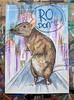 Ro Don't! (id-iom) Tags: idiom street urban art graffiti vandalism giant rat rodent bmovie city experiments watercolour acrylic