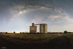 Dubbo (Bill Thoo) Tags: dubbo nsw newsouthwales australia landscape night rural country agriculture silo grainsilo stars astro astrophotography milkyway panorama sky longexposure sony a7rii ilce7rm2 zeiss batis 18mm