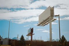 space (janette_j) Tags: space empty blank billboard blue sky skies ektar 100 35 mm filmm nikon n65