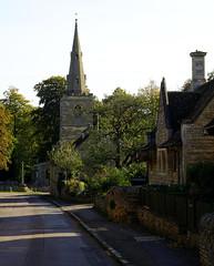 Apethorpe (Jayembee69) Tags: apethorpe village northamptonshire northants road street stone england english uk unitedkingdom britain british gb church spire cottage house houses