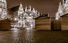 quietness after Christmas (chantalliekens) Tags: antwerp antwerpgrotemarkt stiltenadekerst quietnessafterchristmas evening city citysquare christmasmarket