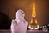 """Madame de neige à Paris"" (Raphaël Grinevald • Photographe) Tags: paris photo france french snowman winter neige tour eiffel eiffeltower champdemars d700 nikon nikkor nuit tourisme trocadero raphaelgrinevald reflex"