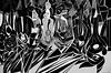 Just Got Caught In A Hurricane (bill_giddings) Tags: blackandwhite original modernfineart fineart abstract fineartstilllife stilllife stilllifeoilpainting oilpaintingoncanvas bottlesandglasses geometricstyle modernart cubism surreal surrealism artnouveau artdeco impressionism impressionist postimpressionist contemporaryart partymood fun joy space twodimensionalspace perspective nearandfar illumination lightanddark shadows illustration creative nikon