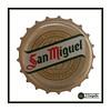 San Miguel (J.Gargallo) Tags: sanmiguel cerveza cervezeros beer bier birra chapa macro macrofotografía españa canon canon450d eos eos450d 450d marco framed