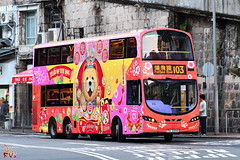 CTB Volvo B9TL 11.3m (Wright Gemini Eclipse 2 bodywork) (kenli54) Tags: ctb bus buses hongkongbus yearofthedog chinesezodiac 2018 9518 tu3200 103 doubledeck doubledecker volvo volvob9tl b9tl b9 olympian wright wrightbus gemini eclipse